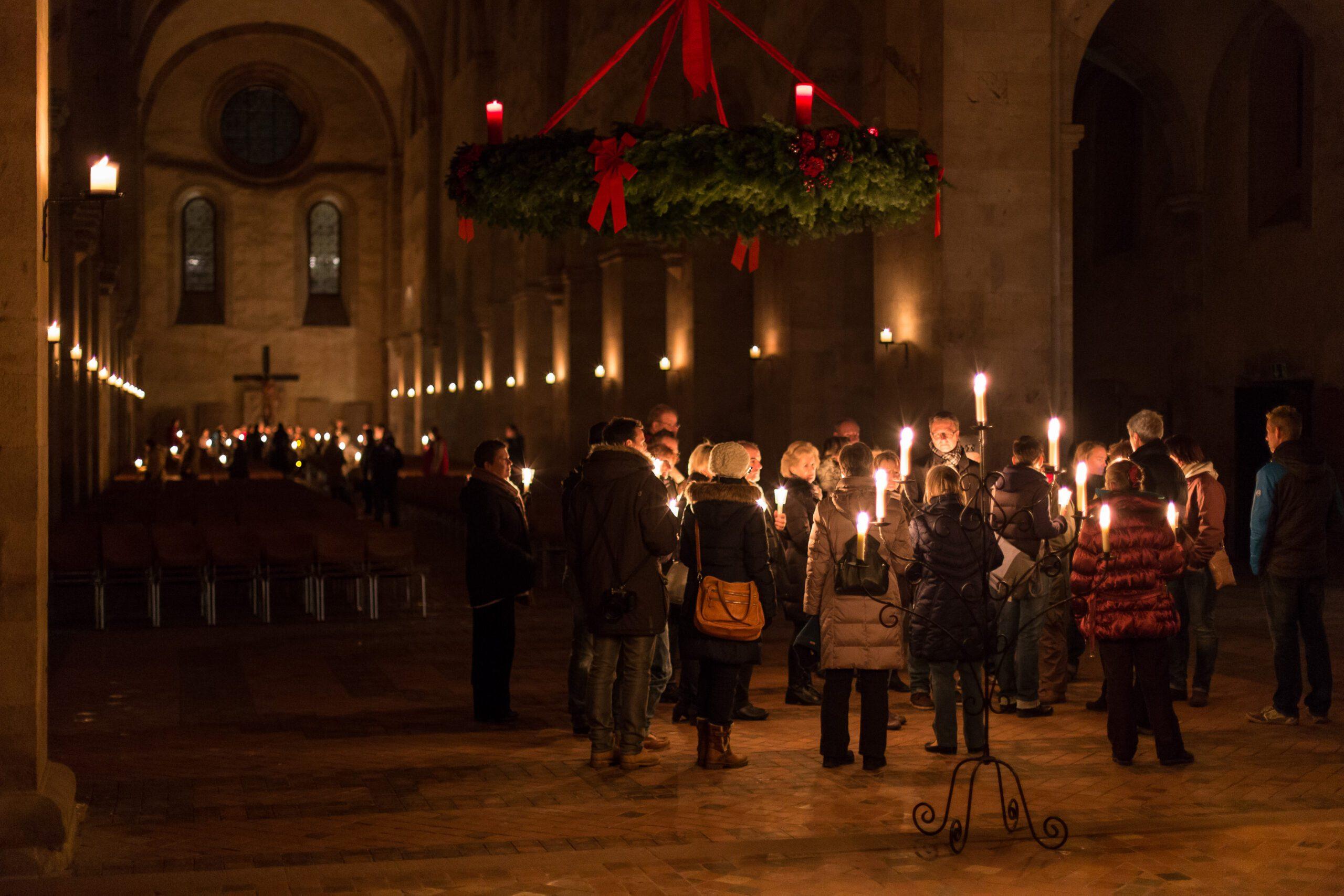 Jörg Schellschmidt - Eventfotografie - Kerzenführung Kloster Eberbach 2014