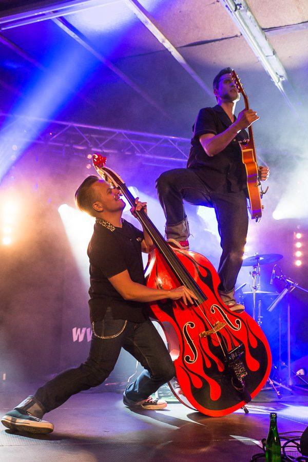 The Hound Dogs - Konzert auf der Airshow Gelnhausen 2015